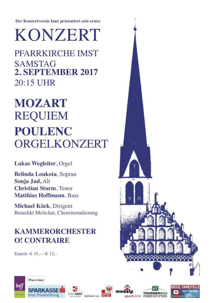 Plakat Konzertverein Imst 2017